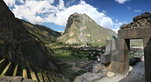 Walk cities new and old in Pisac, Peru
