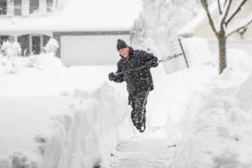 Winter weather can pose a number of threats for older adults, including an increased risk of heart disease in the days after a snowstorm.