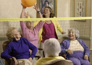 Active seniors live happier, healthier lives.