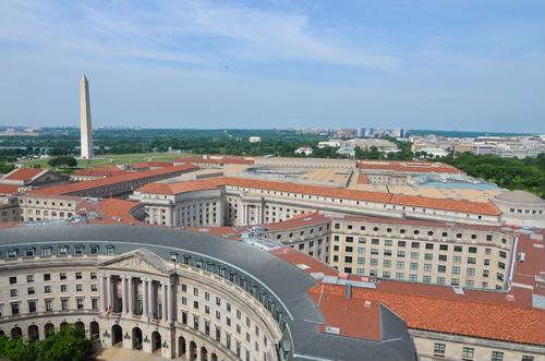 Appreciate Washington, DC, from the Old Post Office Pavilion's clock tower
