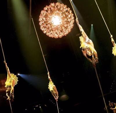 Cirque Du Soleil pays homage to classic Hollywood