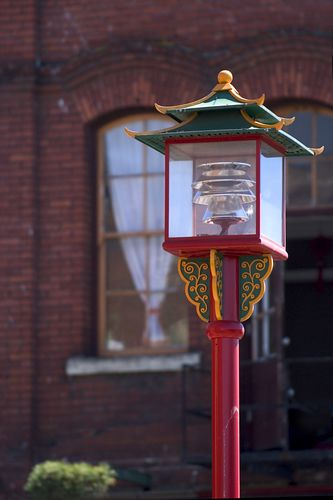 Look for fiberglass dragons in Seattle's Chinatown