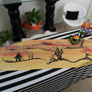Perk up the look of your Halloween bash's serving area with a fun craft project