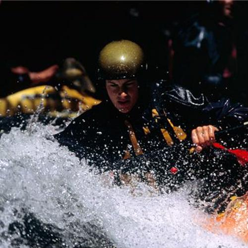 Rafting and other water sports may increase the risk of shoulder pain.