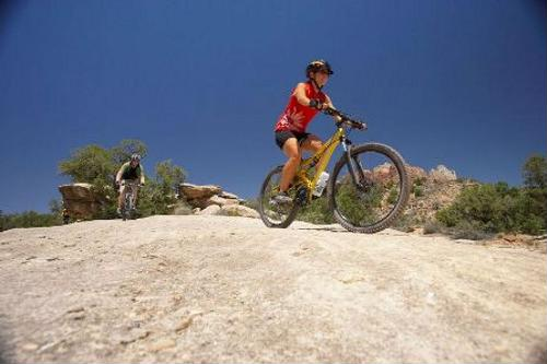 Researchers are studying injuries that are common in mountain biking.
