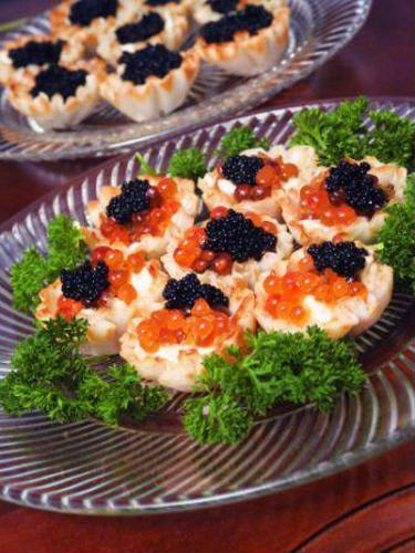 Savor fine caviar at a Los Angeles gourmet shop