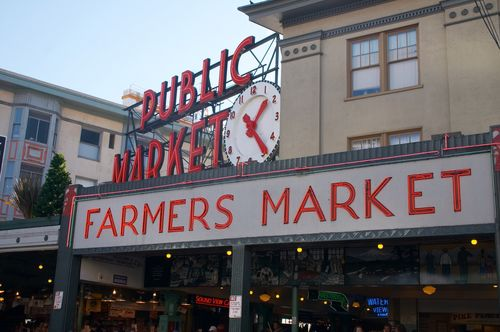 Soak in Seattle culture at Pike Place Market