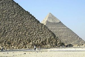 Close up view of the Pyramid of Khufu at Giza - Egypt Travel News