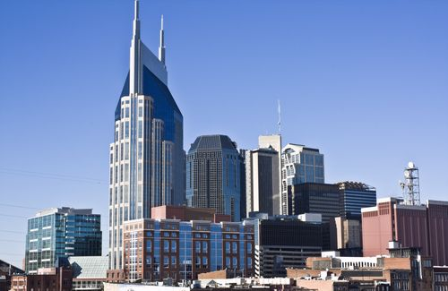 Visit Nashville to view the Batman Building