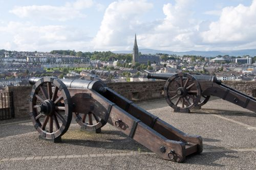 Visit Northern Ireland's walled city of Derry