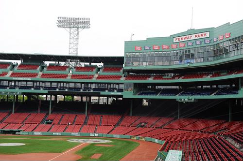 When in Boston, take in a game at Fenway Park