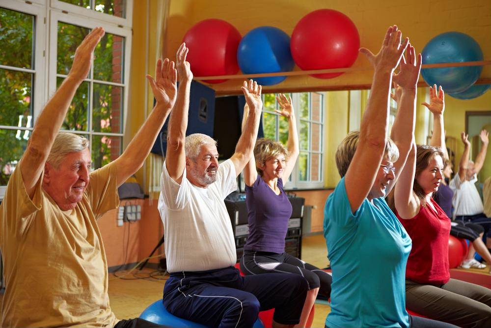 Which workouts help seniors with diabetes?