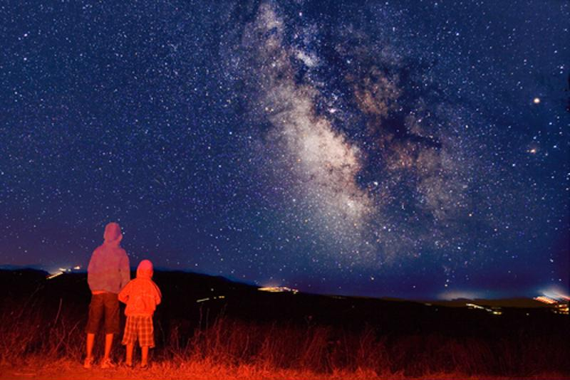 Each of these parks offer excellent chances to see the Milky Way galaxy above.