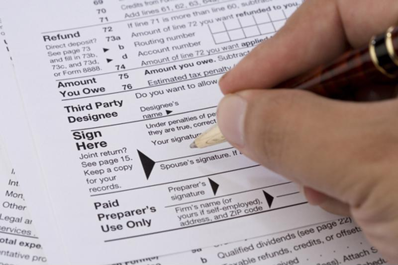 There's often some good news that comes along with filing taxes.