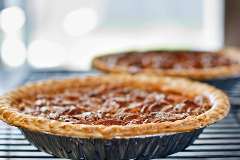 Traditional pecan pie makes for a great dessert all year long.