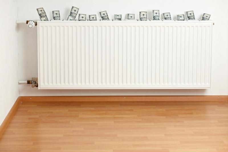 Heating your home excessively can be very costly.