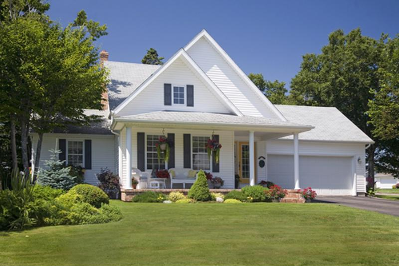 The better your front lawn looks, the less likely burglars will take the chance on you not being home.