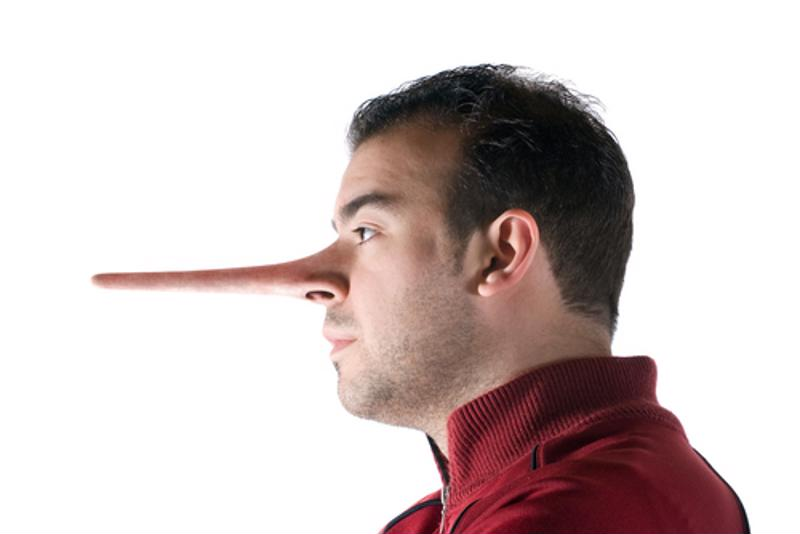 Just like Pinnochio, you can't hide your lies. Stick to the facts to build trust with your consumers.