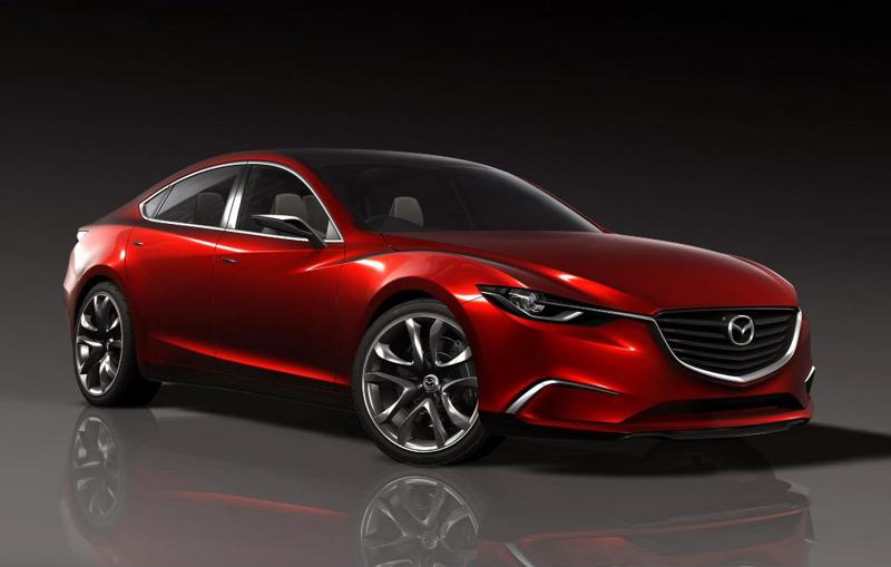 A brand new model of a Mazda vehicle that was manufactured in Mexico