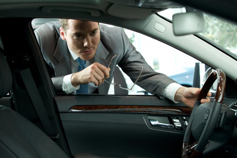 A quick sniff in a car's interior could identify a potential problem.