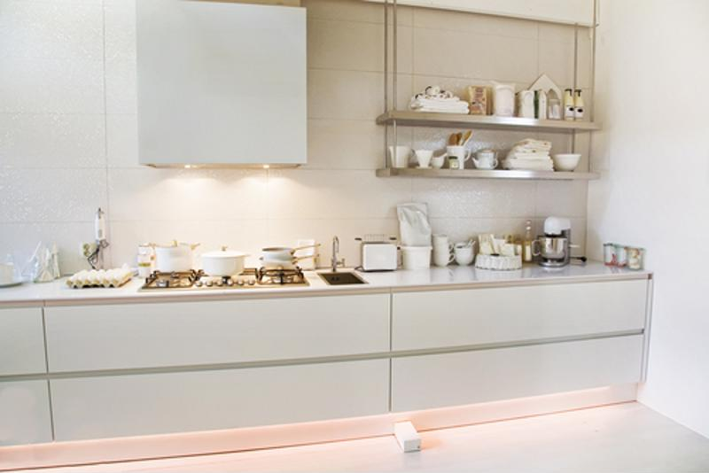 LEDs work perfectly with undercabinet and recessed light fixtures.