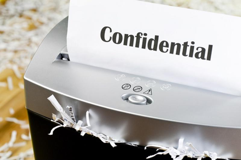 Your business should shred obsolete documents that contain customer details.