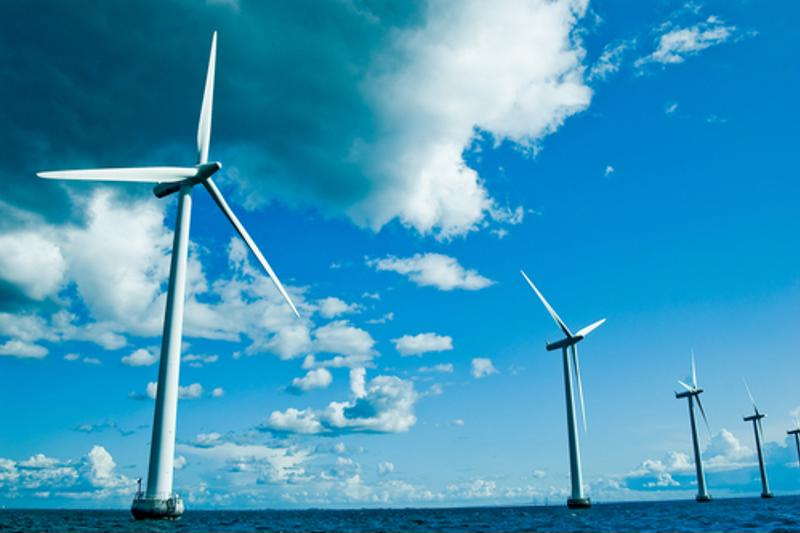 Today's wind turbines are made from carbon reinforced composites.