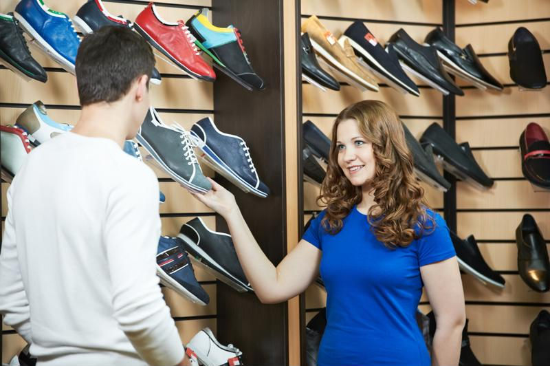 Employees can help shoppers and provide casual supervision.