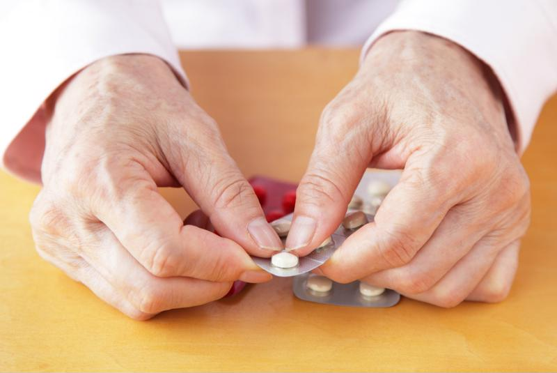 Ask your senior loved one what medications he or she is taking.