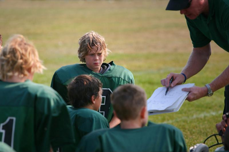 Sponsoring a local youth sports team is great way to promote your company.