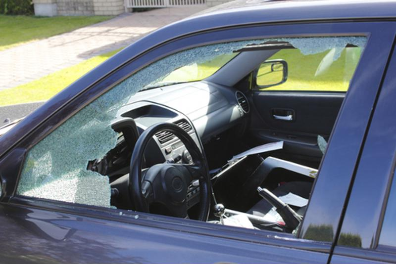No force was used in this series of car break-ins.