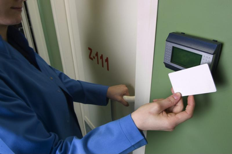 Access control can work well alongside real-time tracking.