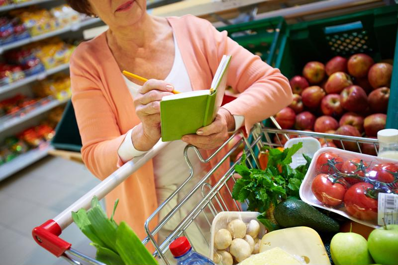 Make your shopping list healthier to ensure you have access to nutritious foods.
