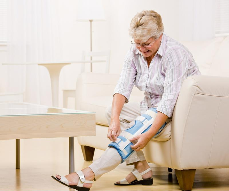 If senior citizens are recovering from an injury, it's particularly important their home are hazzard-free to avoid falls.
