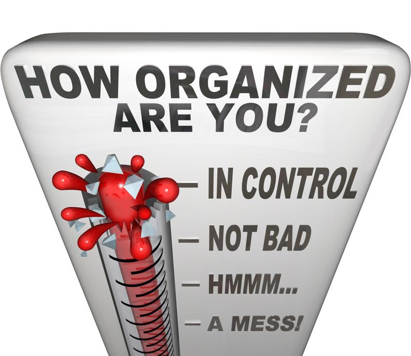 Organization can help more than your finances - it can make your life worry-free.