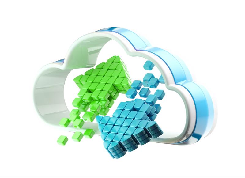 Hadoop allows easy analysis of big data in a cloud computing environment or in a data center.