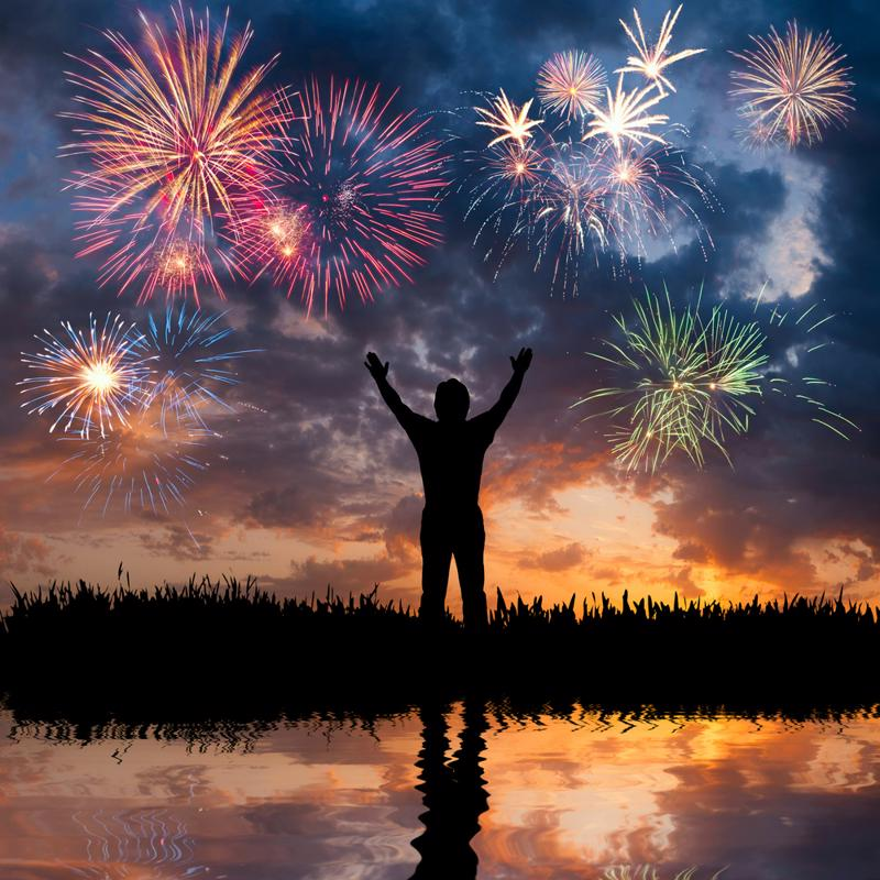 Fireworks may look pretty, but you need to keep your head about you when you're the on dealing with them.