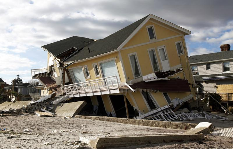 Hurricane Sandy took its toll in 2012.