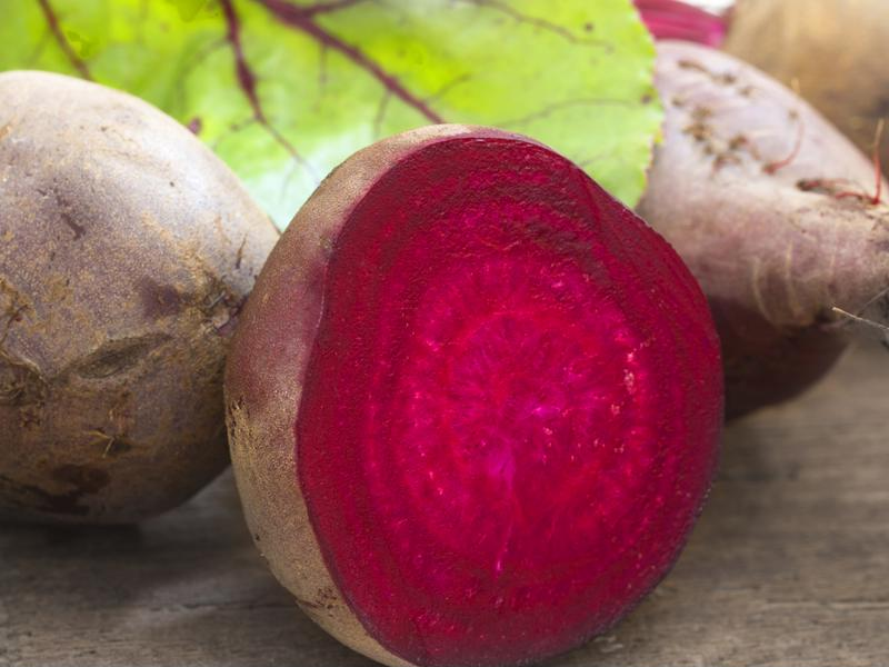 Beets are used in a variety of products as dyes and natural sweeteners.