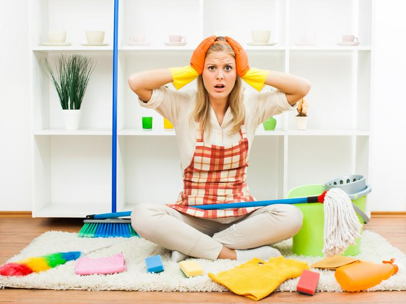 Cleaning up after a party can be overwhelming, but with these tips you'll dive right in.