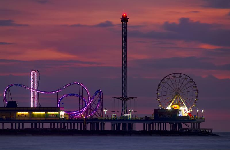 Boardwalks are a great attraction for beach goers - they are often lined with great shops and restaurants, and some even have amusement piers.