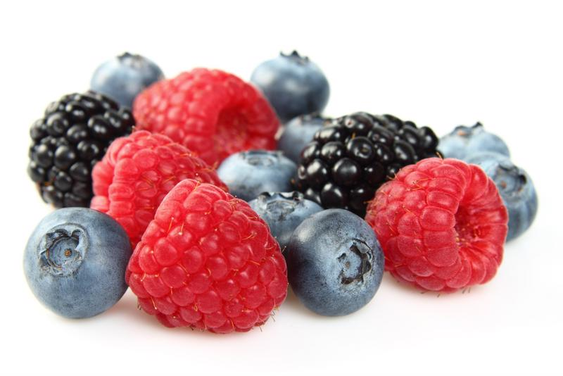 Use fresh berries to get the most flavor in your smoothies.