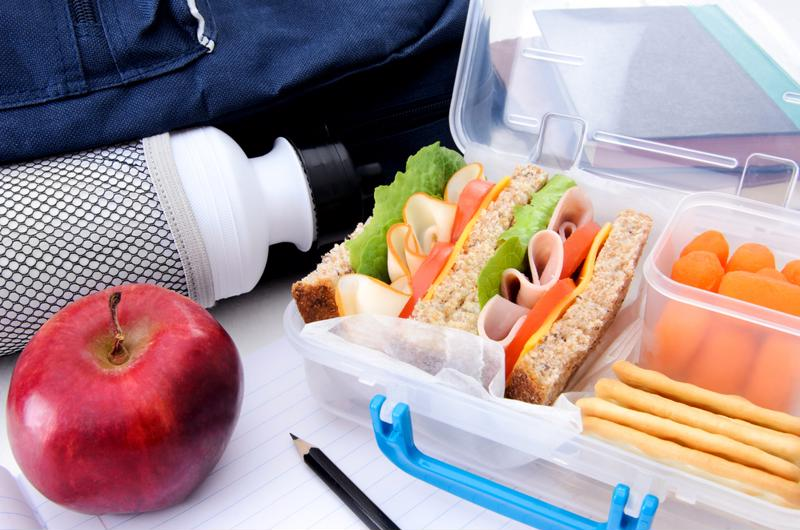 Let your kids make their own lunch from time to time.