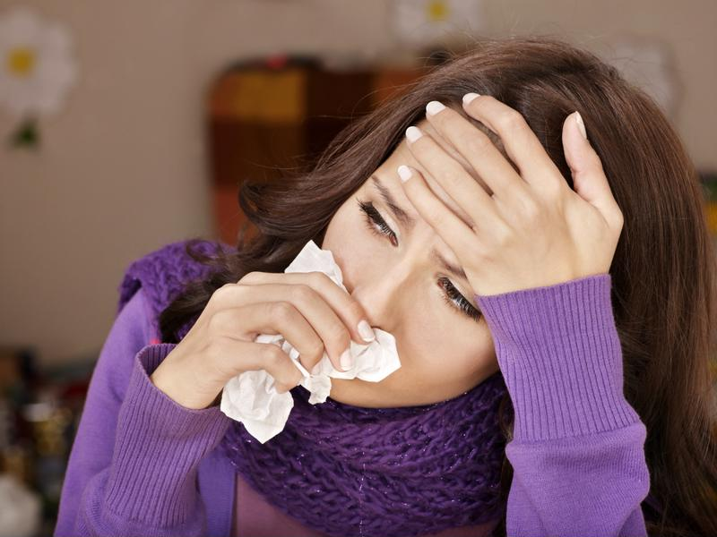 If you only feel sick when you're in a certain building, it could be the air.