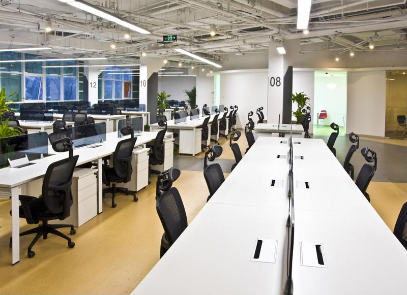 The decline of private offices has given birth to open office layouts.