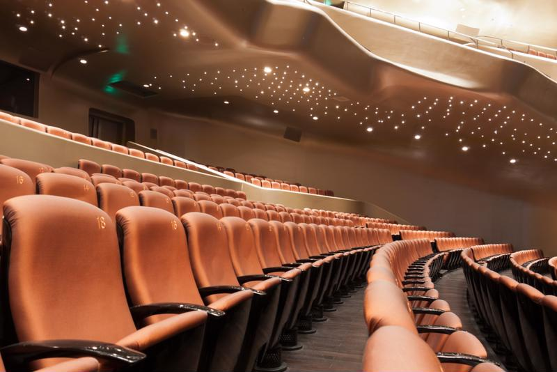 IAIA's auditorium will host some of the country's most talented poets and authors.