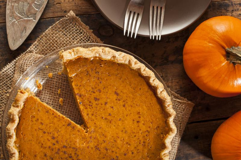 Pumpkin puree is a perfect for vacuum sealing for pumpkin pie making months later.