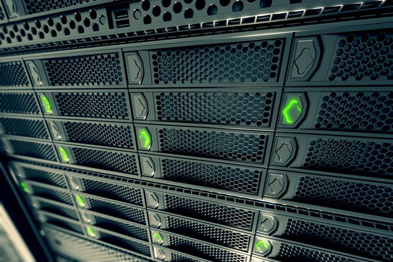 A n enterprise server.
