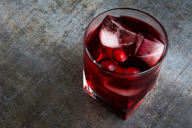 Use cranberries for garnishes and mixers.