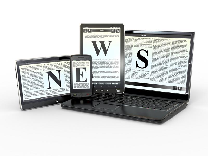 Regardless of the channel, newspaper publishers are still a popular source for recent events and interesting articles.